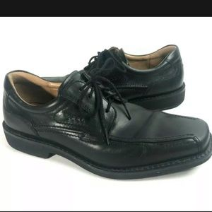 Ecco mens 43 Seattle Bicycle Lace up Dress Shoe 9